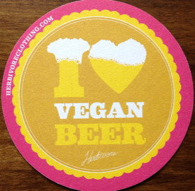 I heart vegan beer -- Herbivore Clothing Company